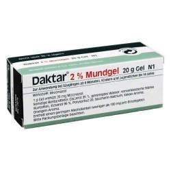 Daktar® 2% Mundgel 20 g
