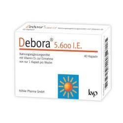 Debora® 5.600 I.E. 40 Kapseln
