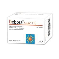 Debora® 5.600 I.E. 60 Kapseln