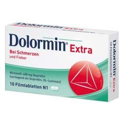 Dolormin® Extra, 400 mg 10 Filmtabletten