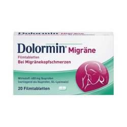 Dolormin® Migräne Filmtabletten, 400 mg 20 Filmtabletten