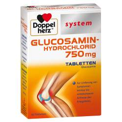 Doppelherz® GLUCOSAMIN-HYDROCHLORID 750 mg 60 Tbl.