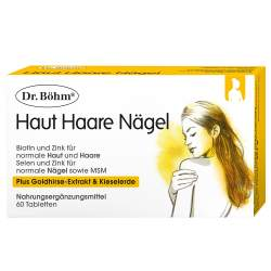 Dr. Böhm® Haut Haare Nägel 60 Tbl.