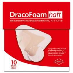 DracoFoam Haft Schaumstoffverb. 7,5x7,5cm 10 St