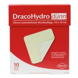 DracoHydro dünn Transp.Hydrokoll.Wundverb.10St. 10x 10 cm