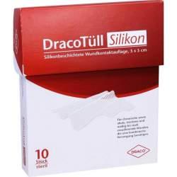 DracoTüll Silikon 10 Stück 5x5cm