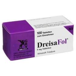 DreisaFol® 5 mg Tabletten, 100 Tbl.