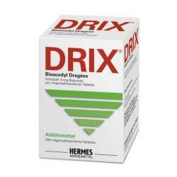 DRIX® Bisacodyl Dragées, 5 mg 200 magensaftresistente Tabletten