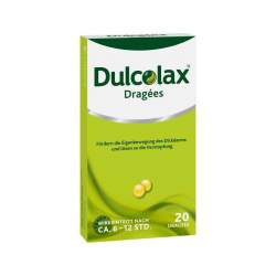 Dulcolax® Dragées, 5 mg 20 magensaftresistente Tabletten