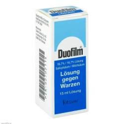 DUOFILM 16,7 % / 15,0 % Lösung 15g