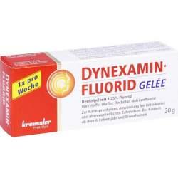 Dynexaminfluorid Gelée Dentalgel mit 1,25 % Fluorid 1 Tube 20 g