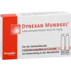 DYNEXAN Mundgel®, 2% Gel 2 Zylinderamp. à 1,7g