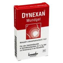 DYNEXAN Mundgel®, 2% Gel 4 Zylinderamp. à 1,7g