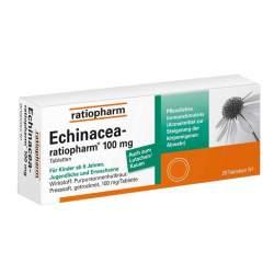 Echinacea-ratiopharm® 100mg 20 Tbl.