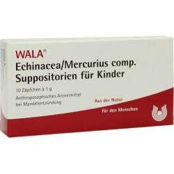 Echinacea/Mercurius comp. Wala 10 Supp. f. Kdr.