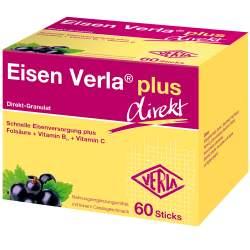 Eisen Verla® plus, Direkt-Granulat 60 Sticks