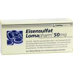 Eisensulfat Lomapharm® 50 mg 50 Filmtbl.