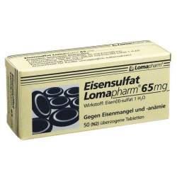 Eisensulfat Lomapharm® 65 mg 50 Filmtbl.