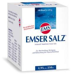 Emser Salz® Pulver 100 Beutel à 2,95g