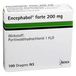 Encephabol® forte 100 überzog. Tbl.