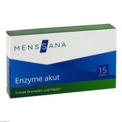 Enzyme akut MensSana® 15 Kapseln
