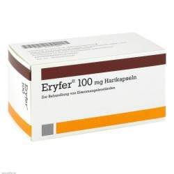 Eryfer® 100 mg 100 Hartkapseln