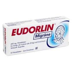 EUDORLIN® Migräne, 400 mg 10 Filmtabletten