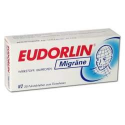 EUDORLIN® Migräne, 400 mg 20 Filmtabletten