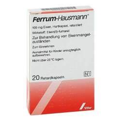 Ferrum Hausmann®, 100 mg Eisen 20 Hartkaps., retardiert