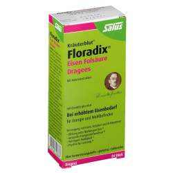 Floradix® Eisen Folsäure 84 Dragees