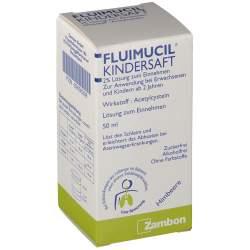 Fluimucil Kindersaft 2% Lösung zum Einnehmen 50 ml
