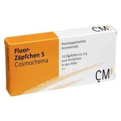 Fluor-Zäpfchen S Cosmochema 12 St.