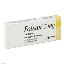 Folsan® 5 mg 50 Tbl.