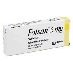 Folsan® 5mg 20 Tbl.