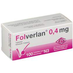Folverlan® 0,4mg 100 Tbl.