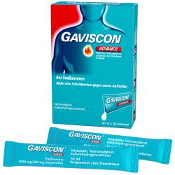 Gaviscon® Advance Pfefferminz, Dos.btl. 12x10ml