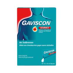 Gaviscon® Advance Pfefferminz, Dos.btl. 24x10ml
