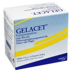 Gelacet® Gelatinepulver mit Biotin