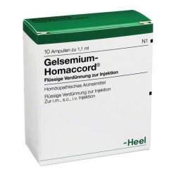 Gelsemium-Homaccord® 10 Amp. Inj.-Lsg.