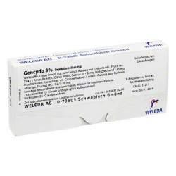 Gencydo® 3% Inj.-Lsg. Weleda 8 Amp.