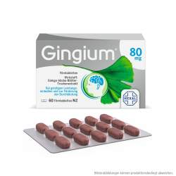 Gingium® 80 mg 60 Filmtabletten