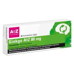 Ginkgo AbZ 80 mg 30 Filmtabletten