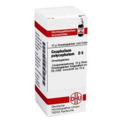Gnaphalium polycephalum D6 DHU Glob. 10g