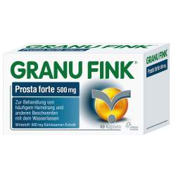 GRANU FINK® Prosta forte 500 mg 40 Hartkaps.