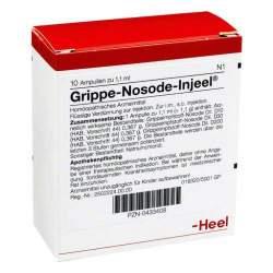 Grippe Nosode-Injeel 10 Amp. Inj.-Lsg.