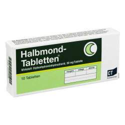 Halbmond-Tabletten® 50 mg 10 Tbl.