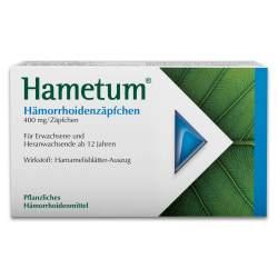 Hametum® Hämorrhoidenzäpfchen 10 Zäpf.