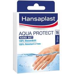 HANSAPLAST Aqua Protect Hand Pack 6 Strips 25 x 65 mm + 6 Strips 25 x 85 mm + 4 Strips 44 x 50 mm