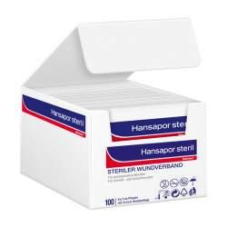 Hansapor steril Wundverband 6x7cm - Einzelpackung 1 St.