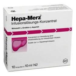 Hepa-Merz® Inf.-Lsg.-Konz. 10 Amp. 10ml